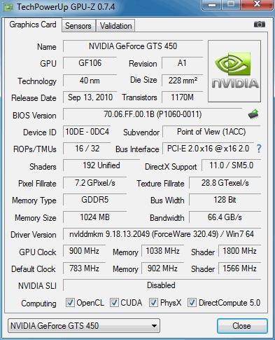 Как разогнать видеокарту nVidia GeForce